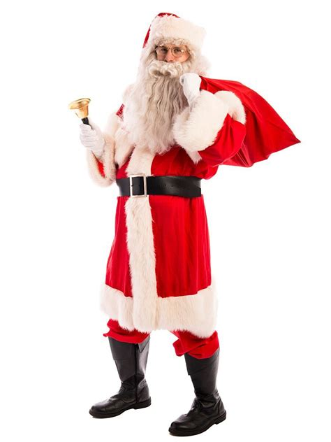 father christmas santa cotton costume creative costumes