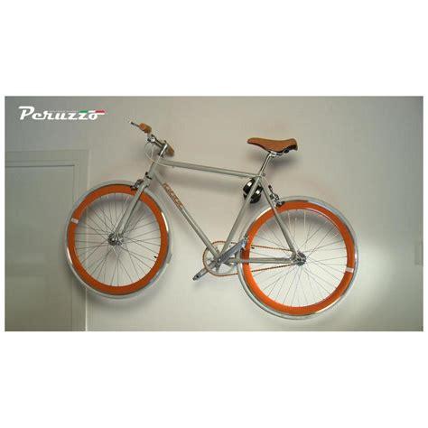 porta bici da muro portabici da parete cool bike rack colore rosso peruzzo