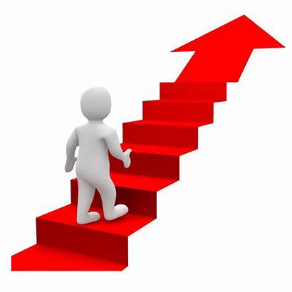 Stairs Clipart Success Steps Goals Bonhomme Stair