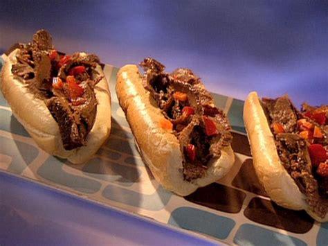 chicago italian beef sandwich recipe guy fieri food