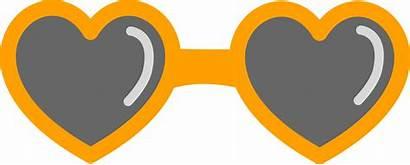 Clipart Sunglass Sunglasses Heart Transparent Clip Glasses