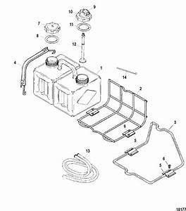 Mercury Marine Fuel    Oil Tanks  Lines  Filter Kits