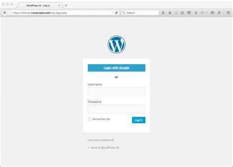 Google Apps Login For Wordpress Wpg