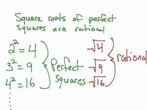 Rational Vs  Irrational Numbers