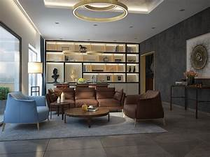 Types, Of, Spacious, Modern, Living, Room, Designs, Which, Arranged, With, Luxury, And, Gorgeous, Interior