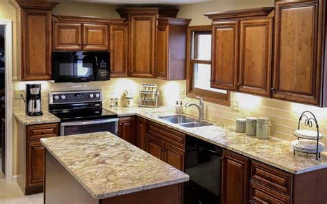 complete kitchen makeover  dublin ohio property brothers