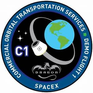 File:SpaceX Dragon COTS Demo 1 logo.png - Wikipedia