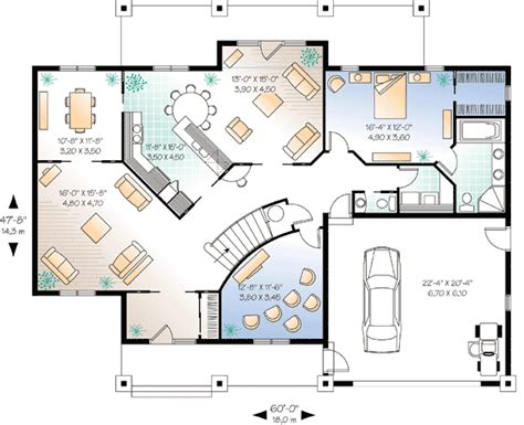 house plans with media room flowing living spaces and a home theater 2159dr