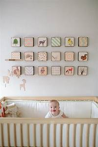 tableau chambre bebe 30 idees de decoration mignonne With chambre bébé design avec livraison fleurs aujourd hui