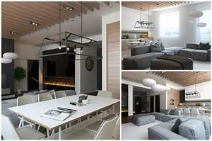 Style Contemporain : d co int rieur design 5 exemples de style contemporain ~ Farleysfitness.com Idées de Décoration
