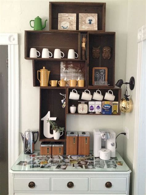 Use a small chalkboard to write your own menu, or. 24 Best Corner Coffee Wine Bar Design Ideas For Your Home   Coffee bar home, Home bar furniture ...
