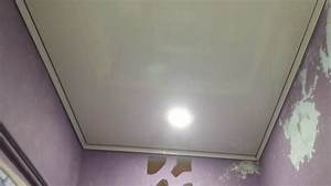 faux plafond pvc salle de bain youtube With faux plafond de salle de bain