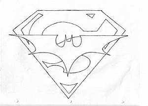 Superman and Batman Symbol by WhyteMonky on DeviantArt