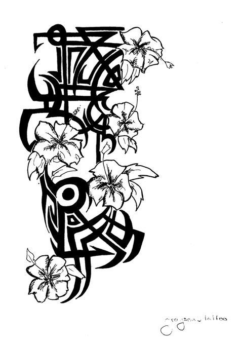 Hawaiian Flowers Drawings | utama.