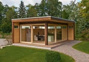 design holzhaus gartenhäuser holz metall modulhaus oder selberbauen schöner wohnen