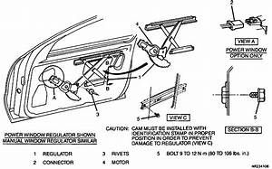 I Need A Diagram For Changing A Manual Window Regulator