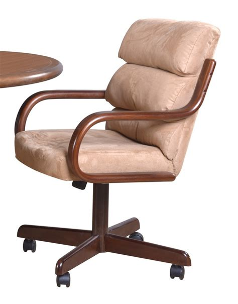 douglas casual living swivel caster dining chairs