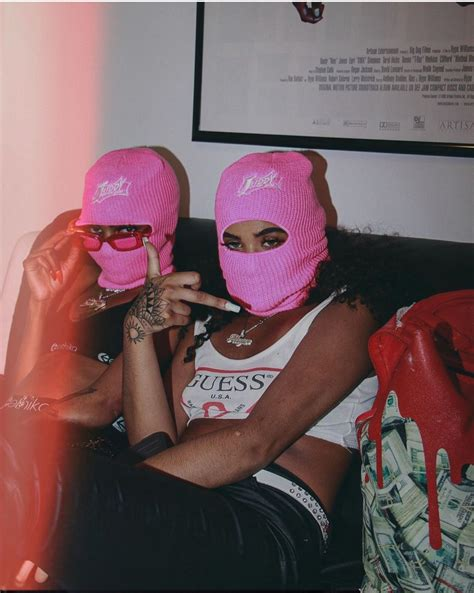 Baddie Wallpaper Girls With Mask 71 Best Ski Mask Clique