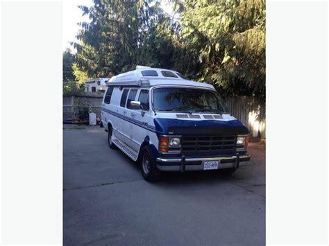 1989 Dodge Ram Raised Roof Camper Van Outside Nanaimo, Nanaimo