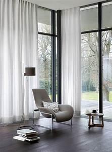 Gardinen Große Fensterfront : gardinen ideen f r gro e fenster ideen f r gro e fenster ~ Michelbontemps.com Haus und Dekorationen