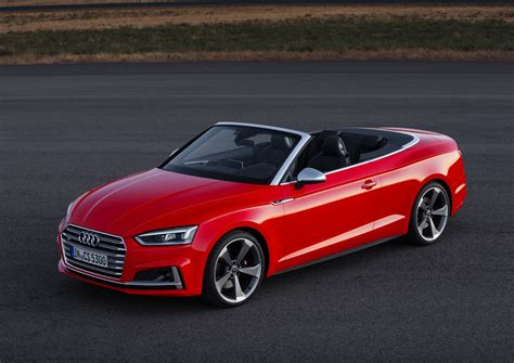 2017 Audi A5 Cabriolet And 2017 Audi S5 Cabriolet
