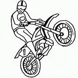 Coloring Bike Pages Dirt Preschool Motorcross Motocross Printable Biker Dirtbike Motorcycles Motorcycle Thecolor Coloured sketch template