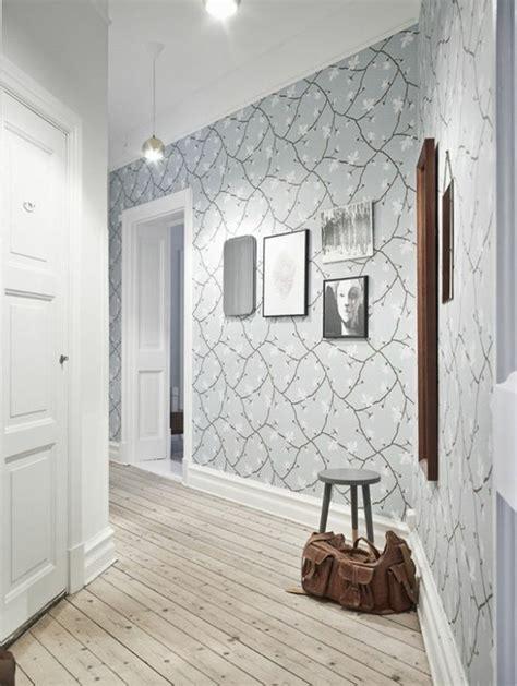 papier peint pour couloir comment faire le bon choix