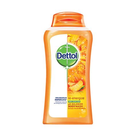 jual dettol bottle reenergize sabun mandi 300 ml