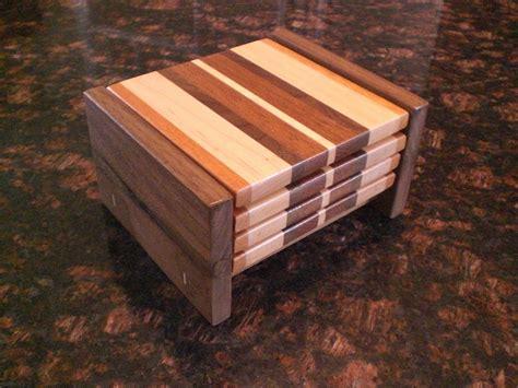 handmade wood coasters  oceanside woodworking