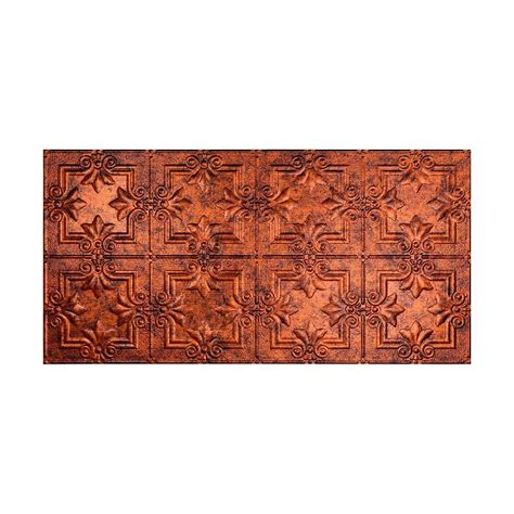 fasade traditional 2 2 ft x 4 ft glue up ceiling tile