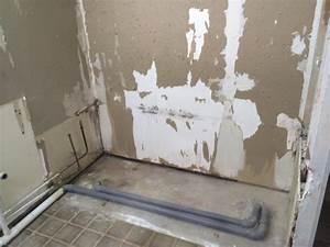 Enlever Carrelage Sur Placo : r novation salle d 39 eau carton placo s 39 enl ve ~ Dailycaller-alerts.com Idées de Décoration