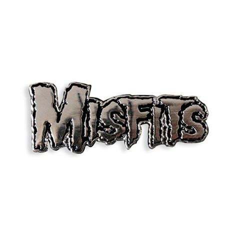 Misfits Logo | Misfits logo, Enamel pins, Lapel pins