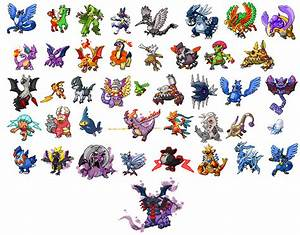Ancient Pokemon Sprites
