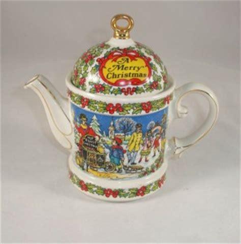 christmas teapots made in england sadler made in vintage teapot ebay