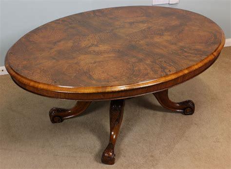 Antique Victorian Walnut Coffee Table