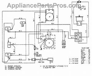 Parts For Magic Chef Dm15k-3b  Wiring Information Parts