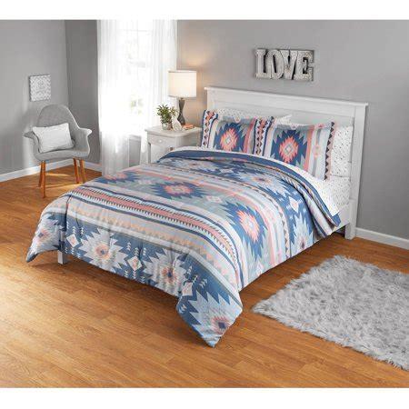 Aztec Comforter Set by Your Zone Aztec Comforter Set 1 Each Walmart