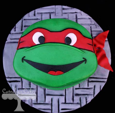 tmnt teenage mutant ninja turtle mini cake raphael www