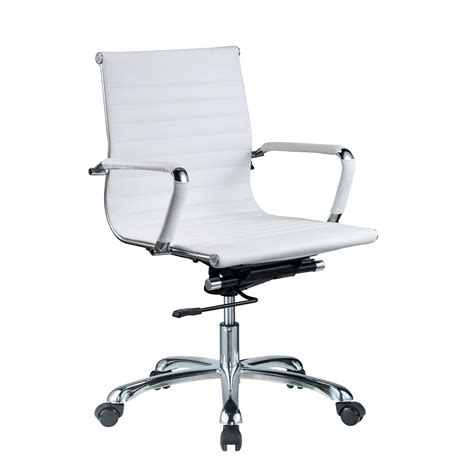 white office chair staples zuo modern office chair image for white leather desk