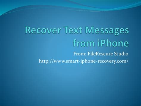 how to retrieve deleted texts on iphone 5c recover deleted text messages from iphone 5 5s 5c 6 6plus