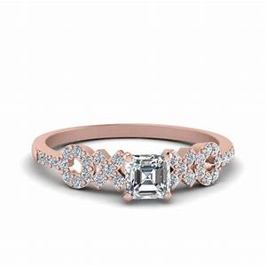 shop for exclusive side stone engagement rings online With marble wedding ring