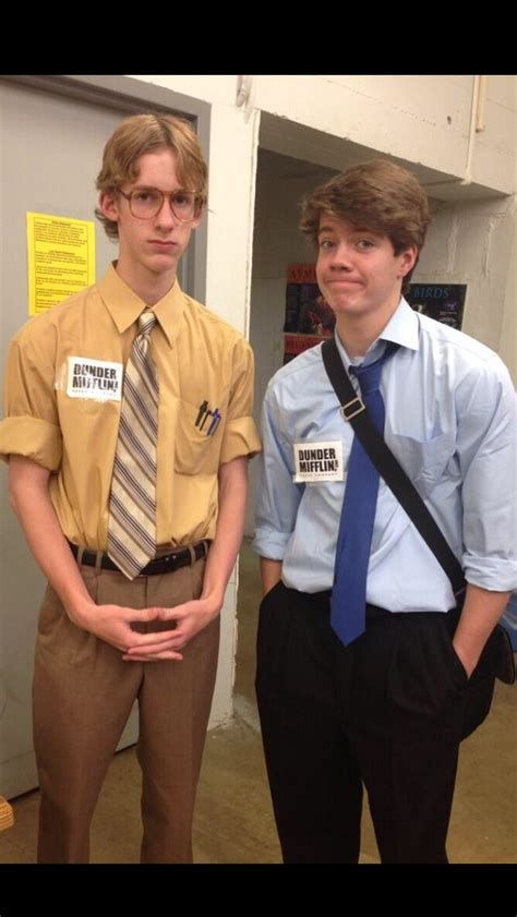 Cute Halloween costume...Jim and Dwight | Funny | Pinterest | Halloween costumes Costumes and ...
