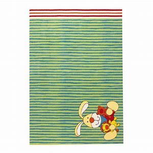 tapis enfant vert sigikid semmel bunny 120x170 With tapis vert enfant
