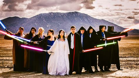 Star Wars Wedding On $5,000 Budget Features Lightsabers. Teal Wedding Rings. Ring Attached Name Rings. Asymmetric Engagement Engagement Rings. Feather Engagement Rings. Bar Set Wedding Rings. Anniversary Rings. Peacock Engagement Rings. Nirav Modi Rings
