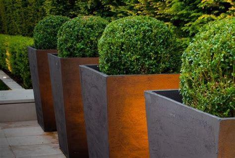 Bronze Garden Planters