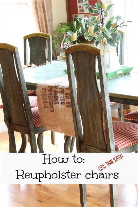 How To Reupholster A Dining 17 Best Images About Diy Projects On Spice