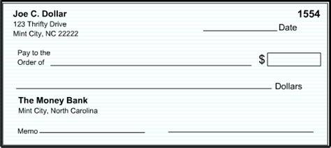 blank check template printable blank check template free