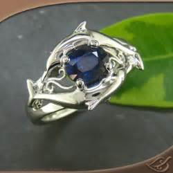 dolphins deep blue and ocean life on pinterest With dolphin wedding ring