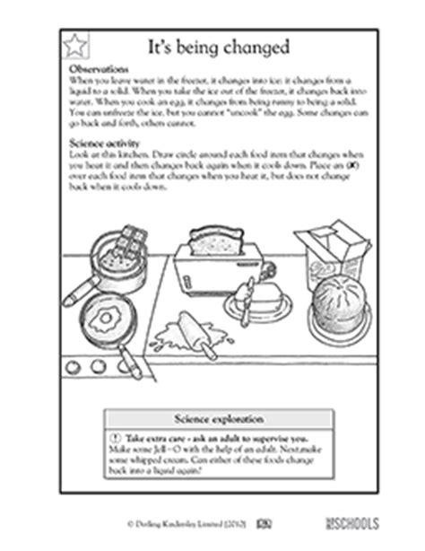 1st grade 2nd grade kindergarten science worksheets it