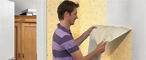 Hartnäckige Tapeten Lösen : tapeten einfacher l sen mit gel bauen renovieren news f r heimwerker ~ Markanthonyermac.com Haus und Dekorationen